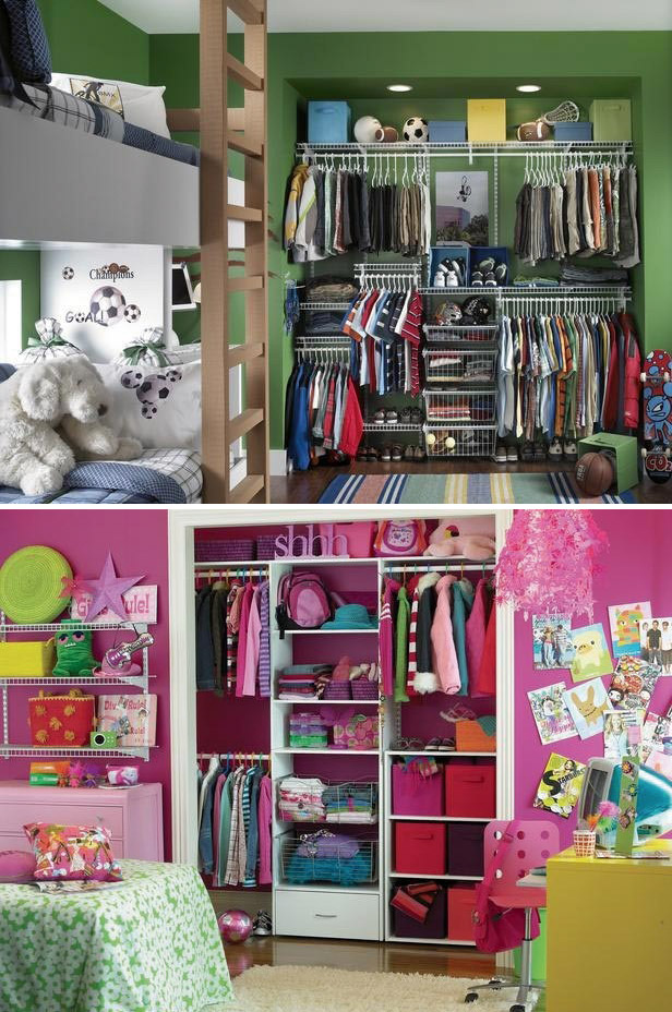 Built In Wardrobe Ideas For Children