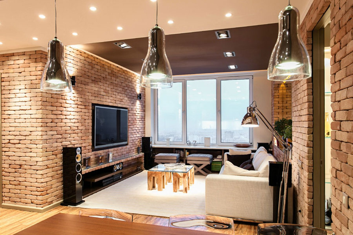 stylish laconic and functional new york loft style