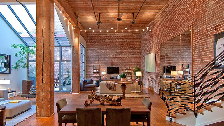 brick wall apartment new york