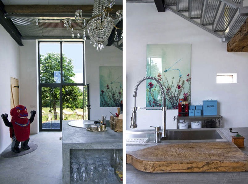 Stylish Laconic And Functional New York Loft Style: From Old Barn To A Stylish Holiday Home With Vintage And