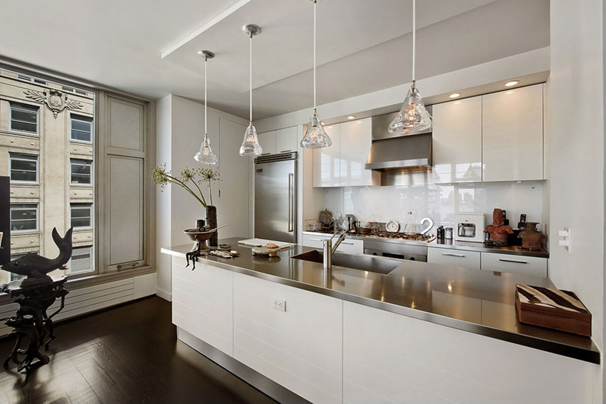 Apartment interior design in new york for New york style kitchen design