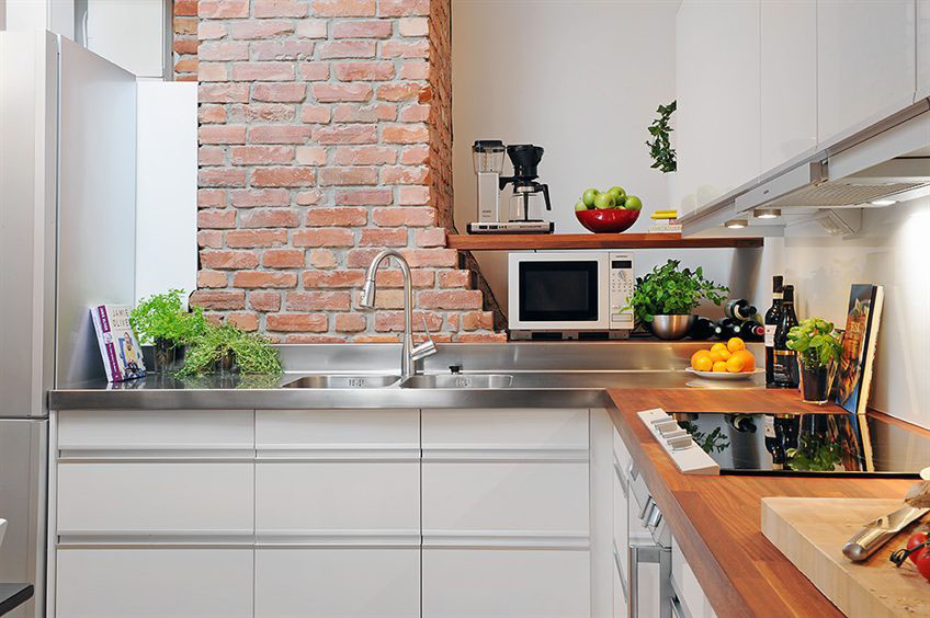 loft style kitchen design