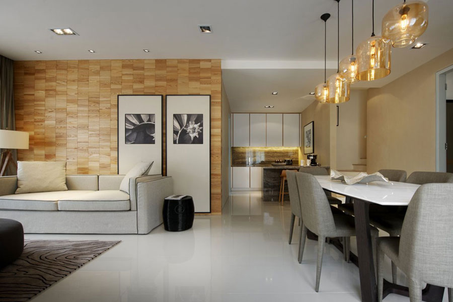 modern interior design by blu water studio