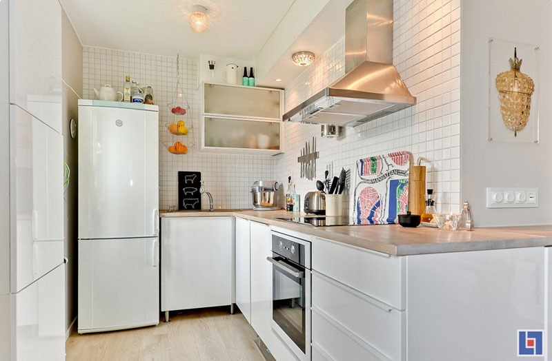 Small Studio Apartment Kitchen tiny studio apartment with swedish charm