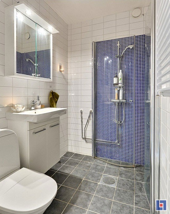 tiny apartment bathroom design