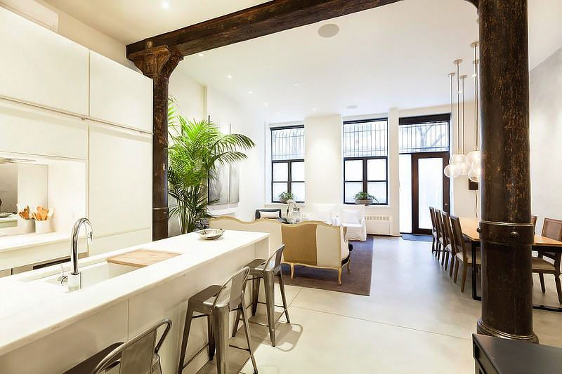 Urban loft style apartment in new york for New york loft apartments