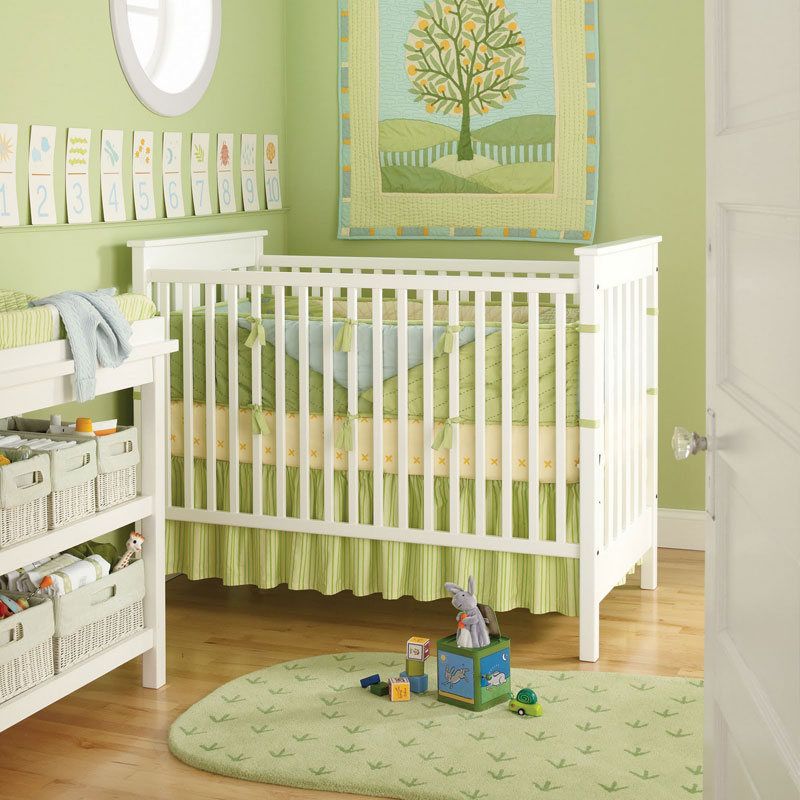 baby rooms in green