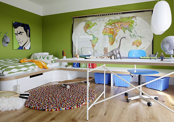 boys room layout design  ideas