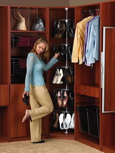 built-in wardrobe ideas for women