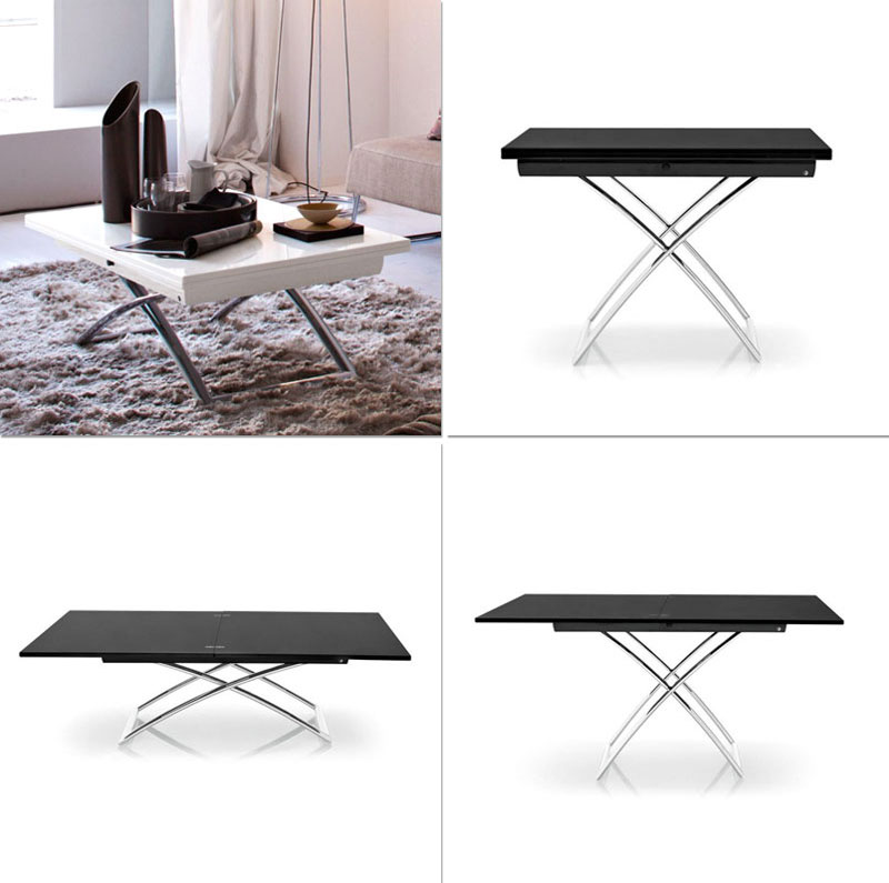 Convertible Tables Smart And Modern Solutions For Small Spaces - Transformer table canada