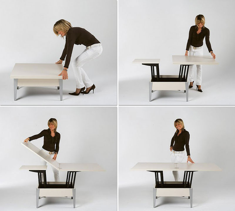 convertible tables designed by john strand company
