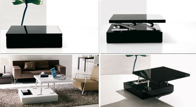 convertible tables by ozzio