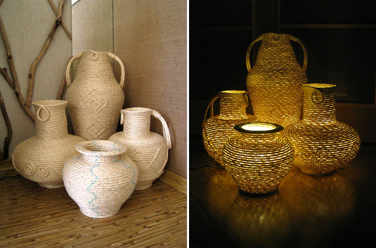 things made from sisal