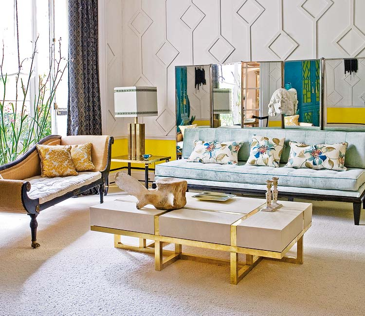 12 Charming Living Room Designs In Eclectic Style