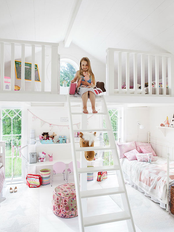 Exceptional 30 Functional And Cozy Children\u0027s Room Design Ideas