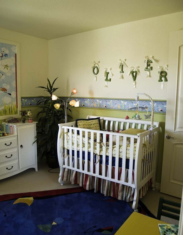 green baby rooms ideas