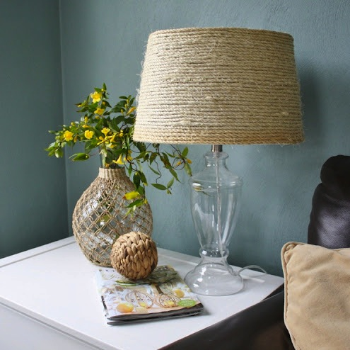 lamp shades who made from sisal