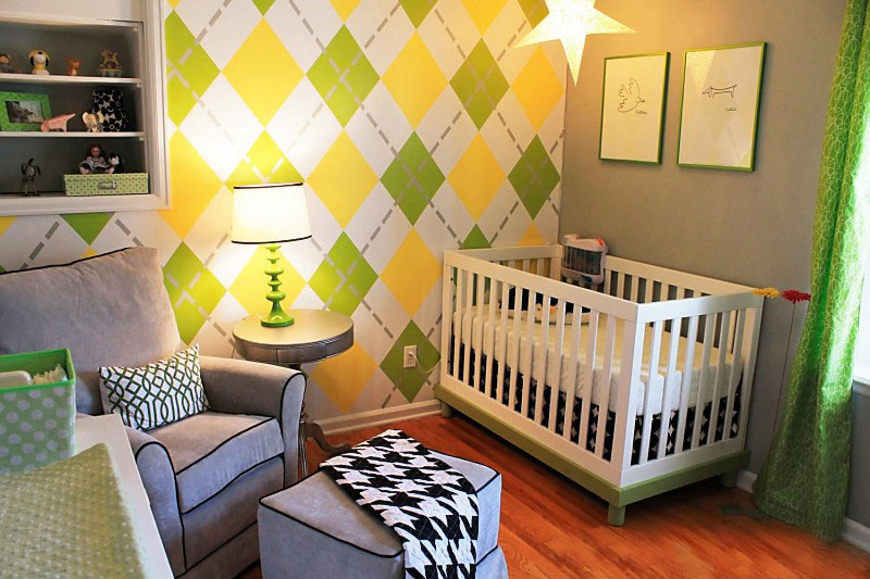 nursery wall decorations ideas