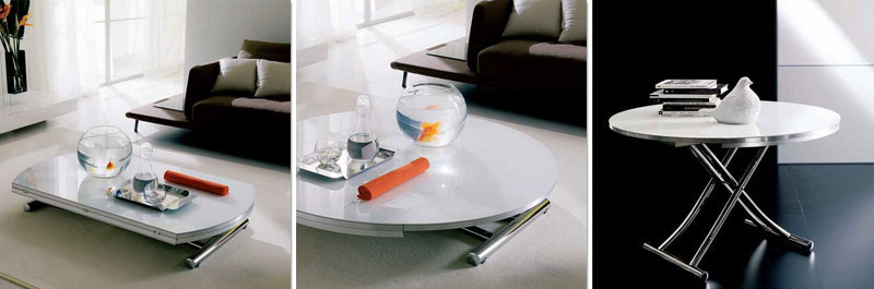 round convertible coffee table