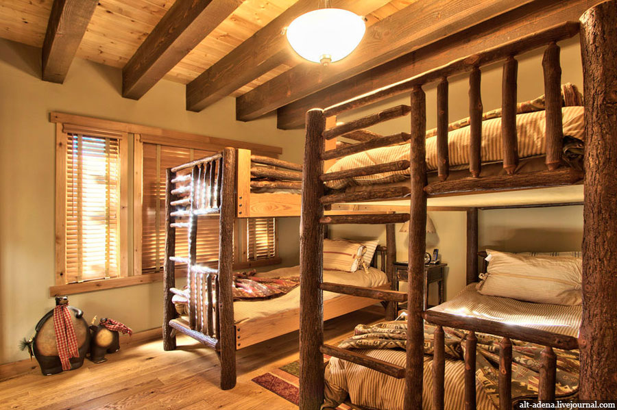 rustic kids room
