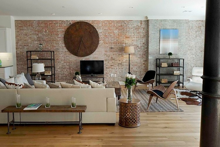 glamorous loft style apartment in new york city - Zwei Glamourose Appartement Interieur Deco Ideen Aus New York