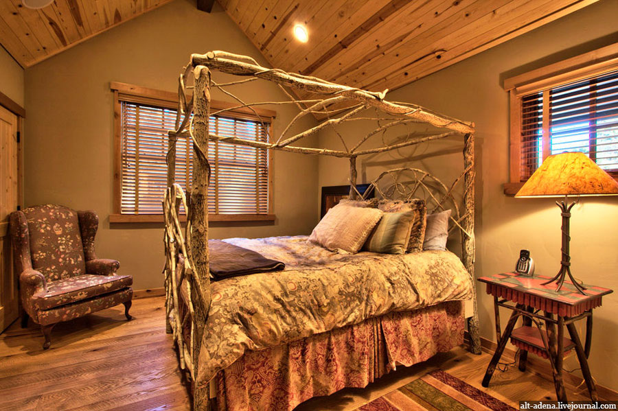 wood bedroom interior design